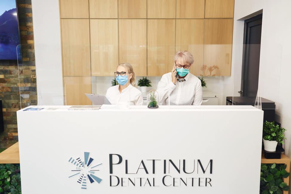 Receptie Platinum Dental Center
