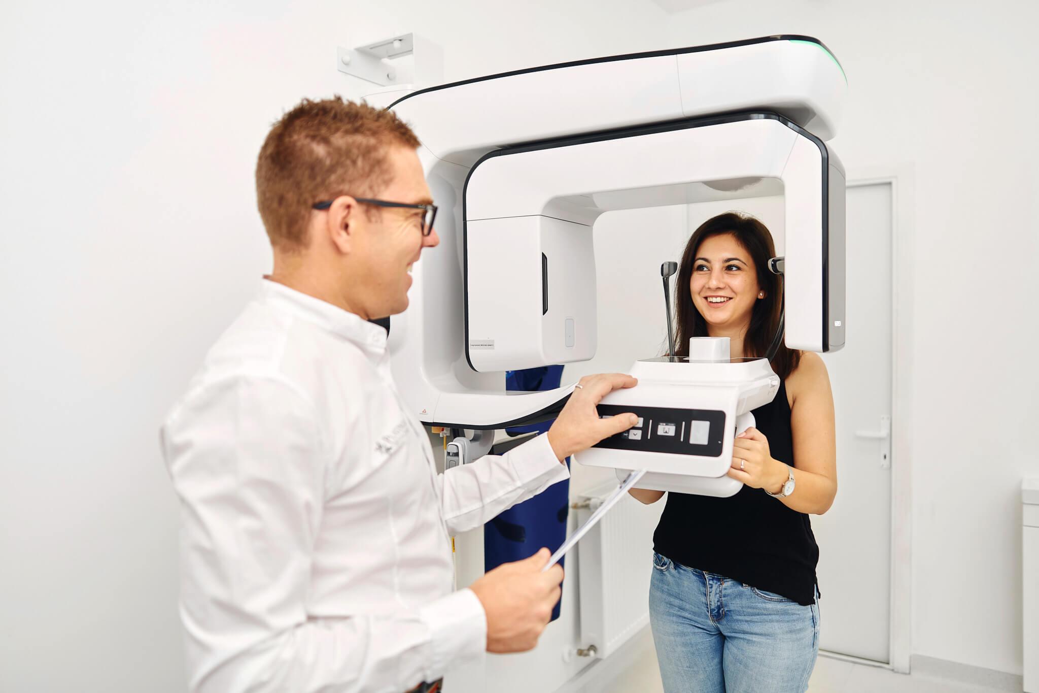 Radiologie dentara Platinum Dental Clinic